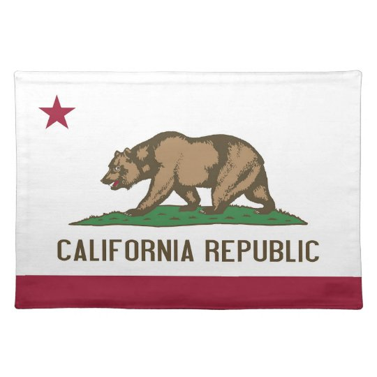 California Flag American MoJo Placemat