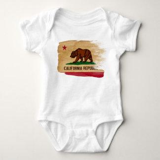 California Flag Baby Bodysuit