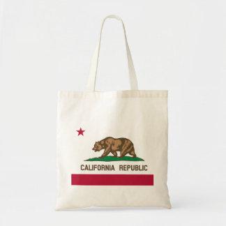 California Flag Canvas Bags