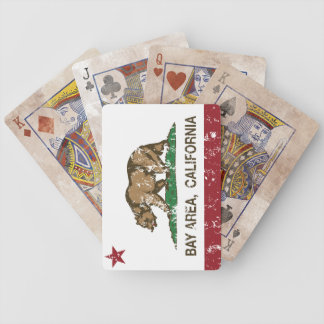 california flag bay area distressed.png bicycle playing cards