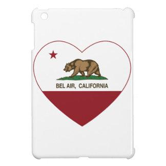 california flag bel air heart iPad mini case