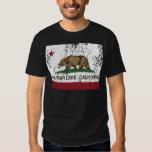 california flag big bear lake distressed tee shirts