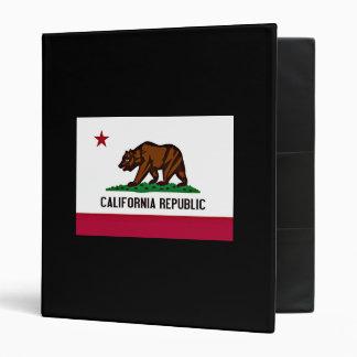 California Flag Binder