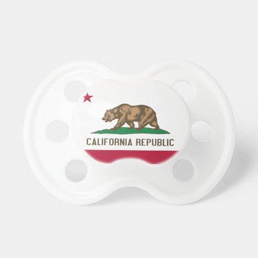 California Flag Booginhead Pacifier