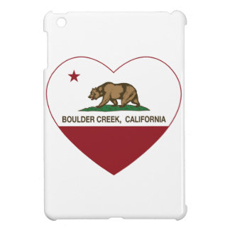 california flag boulder creek heart cover for the iPad mini