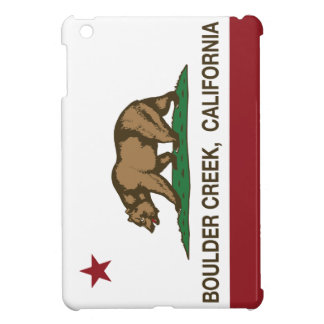 California flag boulder creek iPad mini case
