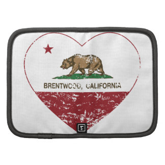 california flag brentwood heart distressed folio planners