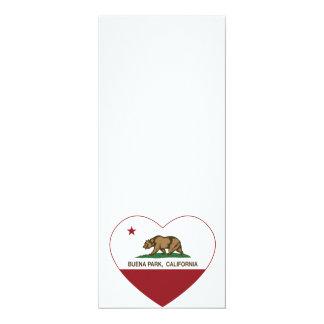 california flag buena park heart custom invitation