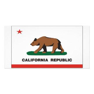 California Flag Card