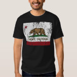california flag cardiff distressed T-Shirt