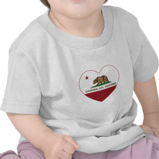 california flag cathedral city heart t shirts