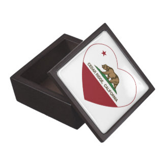 california flag cedar ridge heart premium jewelry boxes