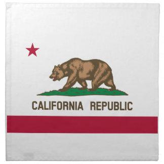 California Flag Cloth Napkin