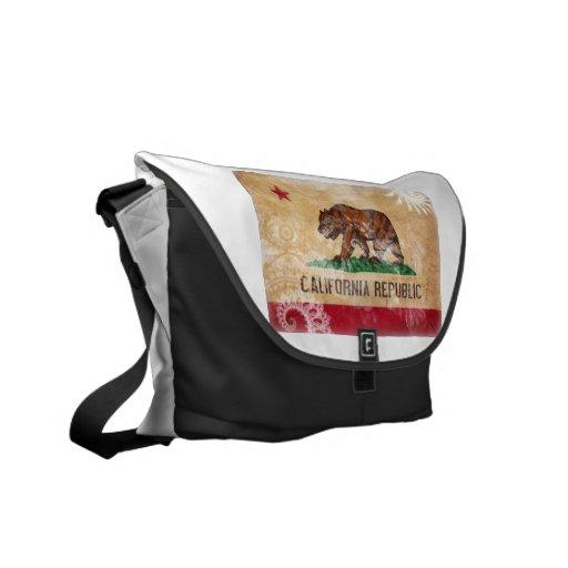 California Flag Commuter Bag