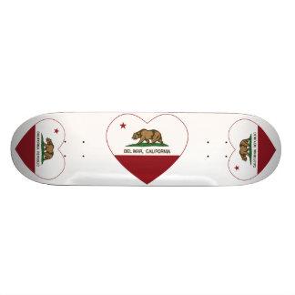 california flag del mar heart skate boards