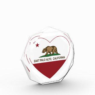 california flag east palo alto heart award