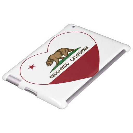 california flag escondido heart