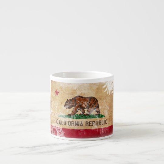 California Flag Espresso Cup