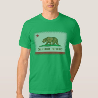 California Flag Fader T-Shirt