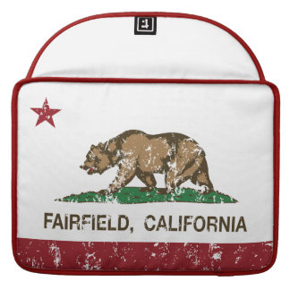 california flag fairfield distressed sleeves for MacBooks