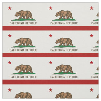 CALIFORNIA FLAG Flag Fabric