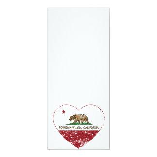 california flag fountain valley heart distressed card