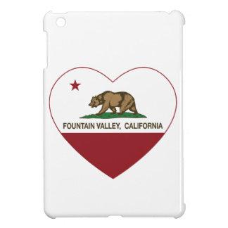 california flag fountain valley heart iPad mini covers