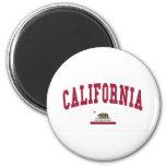 California Flag Fridge Magnet