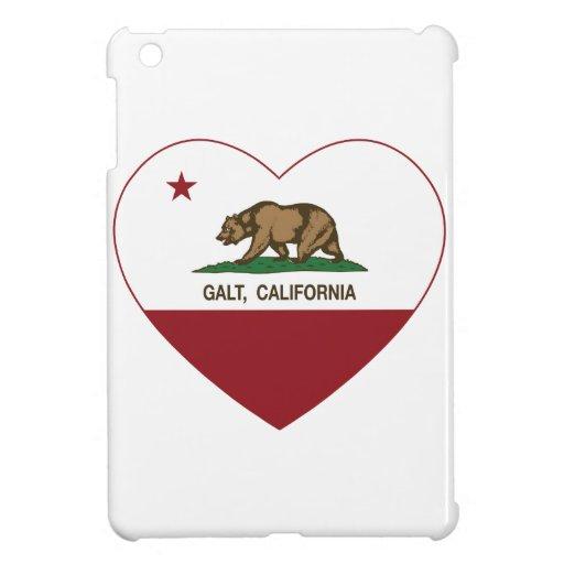 california flag galt heart iPad mini case