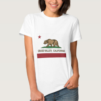 california flag grass valley tee shirt