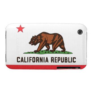 CALIFORNIA FLAG iPhone 3 Case-Mate Case