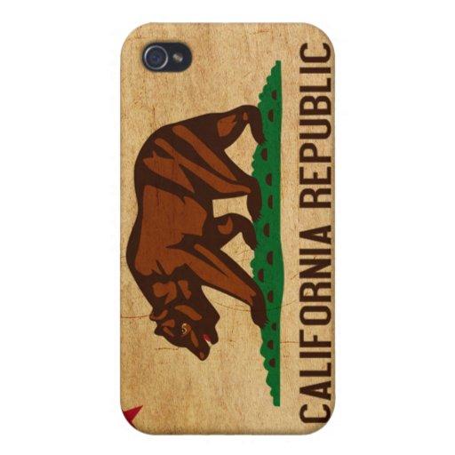 California Flag iPhone 4/4S Case