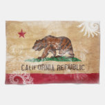 California Flag Kitchen Towels