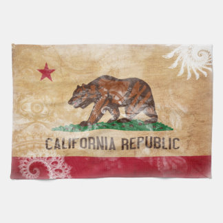 California Flag Kitchen Towels