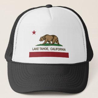 california flag lake tahoe trucker hat