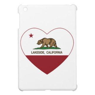 california flag lakeside heart iPad mini cover