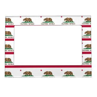 California Flag Magnetic Frame