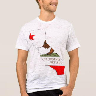 California Flag Map T-Shirt