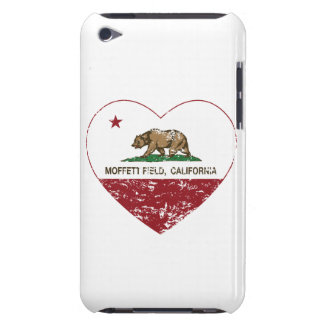 california flag moffett field heart distressed barely there iPod covers