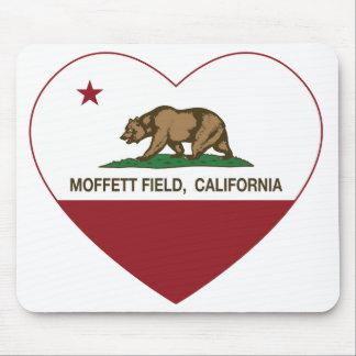 california flag moffett field heart mouse pad