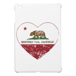 california flag monterey park heart distressed iPad mini case
