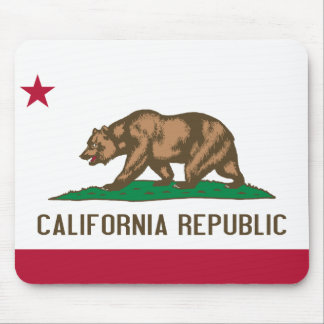 California Flag Mouse Pad