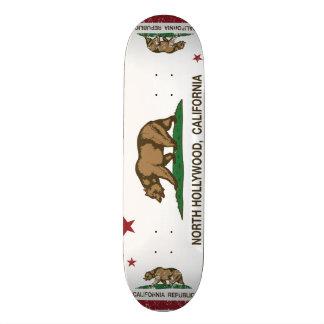 california flag north hollywood skate deck