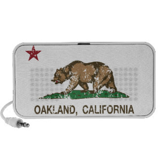california flag oakland speaker system