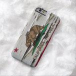 California Flag Paint Peel iPhone 6 Case