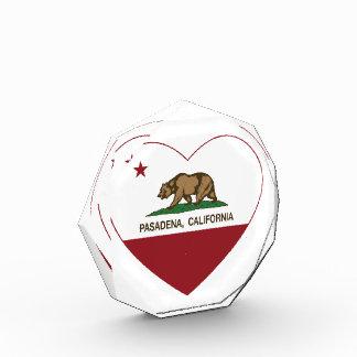 california flag pasadena heart award