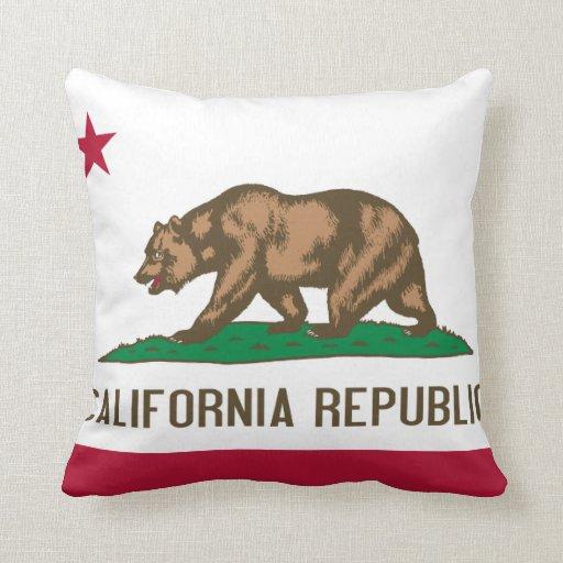 California Flag pillow