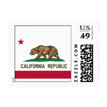California Flag Postage