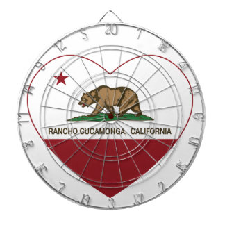 california flag rancho cucamonga heart dart board
