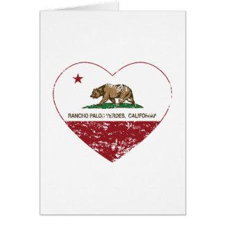 california flag rancho palos verdes heart dis card